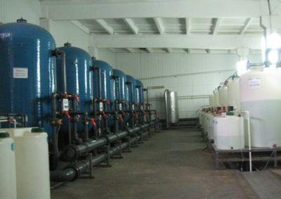 очистка воды на заводе